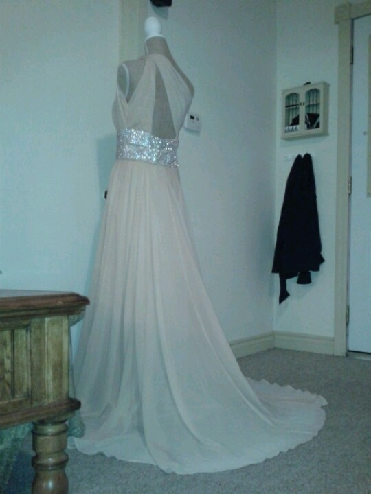 My dress....
