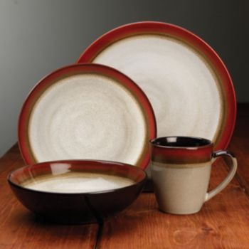 Gibson Couture Bands 16 Pc. Dinnerware Set