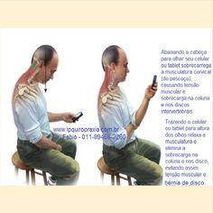 """tensão no pescoço e hérnia de disco cervical. Caso sinta tenso o pescoço e a região dos ombros, as vezes dormência ou formigamento no braço ou mão procure um Quiropraxista e volte a ter o pescoço leve e sem dor.  Não espere muito tempo pois a coluna vai ficando rígida e com as subluxações, o que pioram o caso e causam o aparecimento de """"bico de papagaio"""".  Removendo-se a subluxação articular e devolvendo o bom funcionamento."""