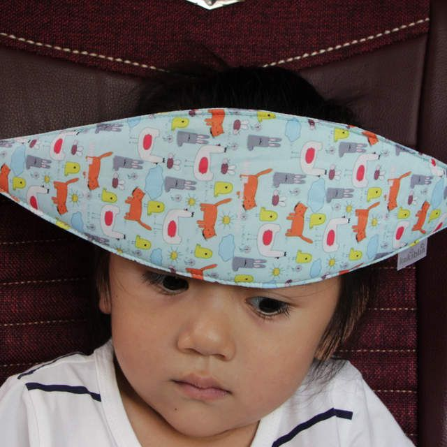 Safety Baby Kids Stroller Car Seat Sleep Nap Aid Head Fasten Support Holder Belt