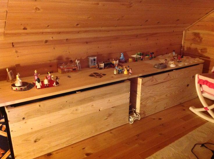 Meer dan 1000 idee n over caisse de rangement op pinterest opslag kratten - Caisse de rangement lego ...