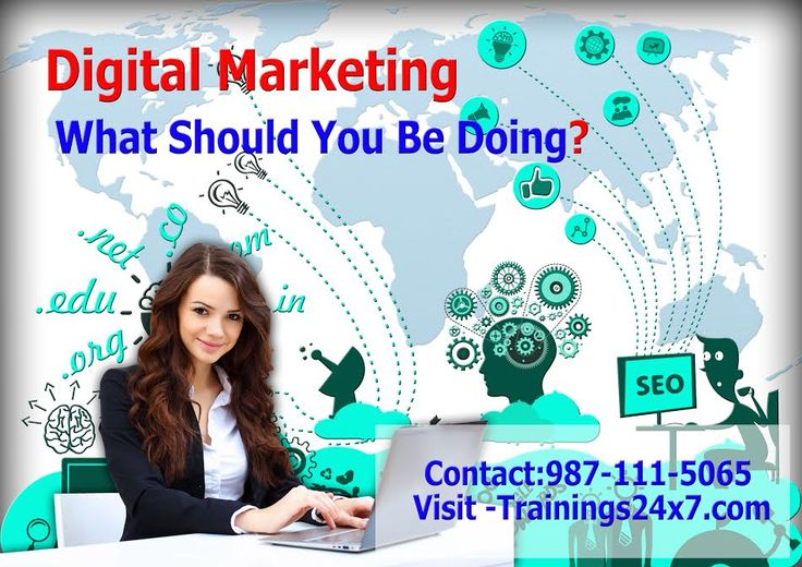 Trainings24x7 provide digital Marketing course which has  vast area where you can choose your career for specific area or as a Digital Marketer with covering all terms of Digital marketing like, SEO, SEM, SMO, SMM, PPC, Google Shopping, Content Marketing, Email Marketing.