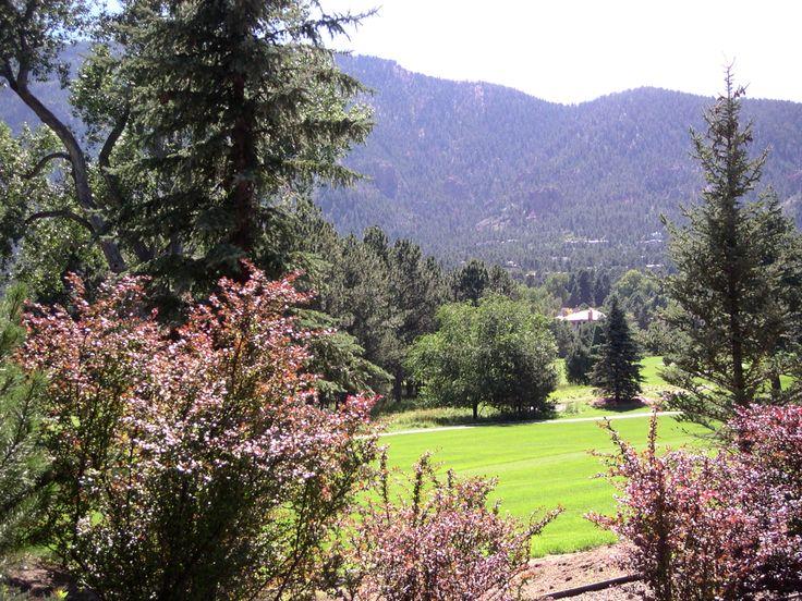 Broadmoor Hotel grounds, Colorado Springs.