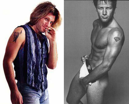 Bon Jovi ジョン・ボン・ジョヴィの腕のタトゥー 2