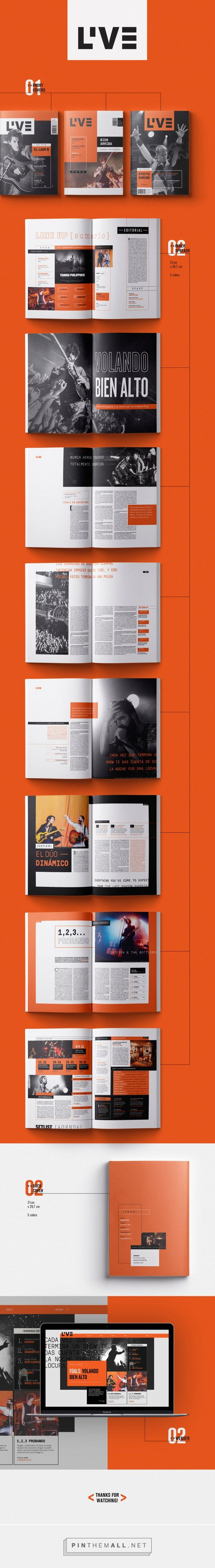 LIVE | Magazine on Behance - created via https://pinthemall.net