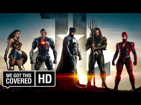 JUSTICE LEAGUE - Official Trailer 1 - YouTube
