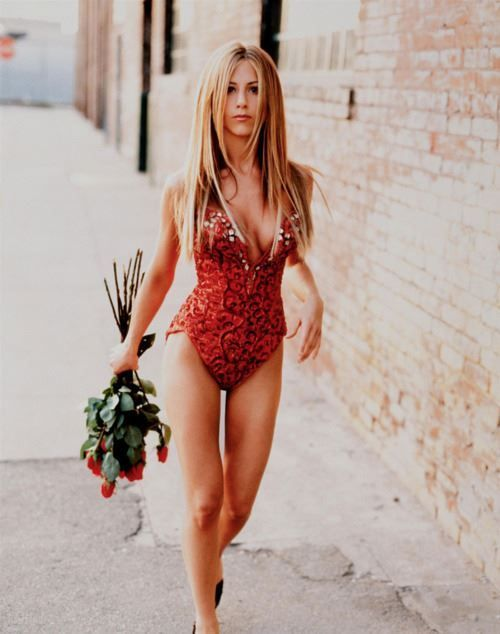 Jennifer Aniston. That girl has my dream body