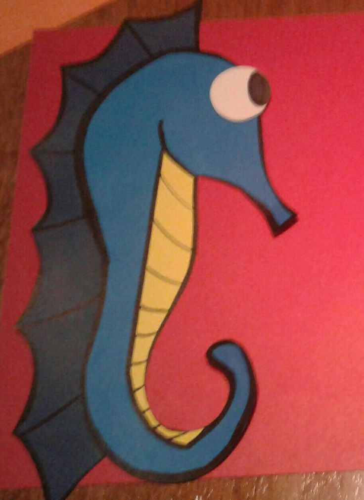 Sea horse for kids