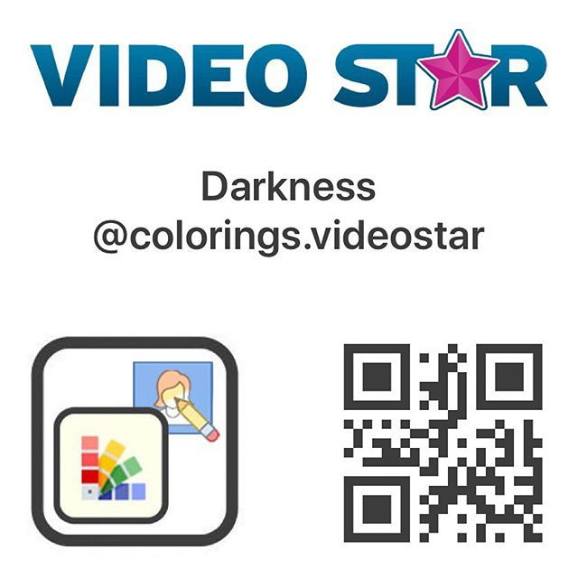 Vs Colorings Colorings Videostar Instagram Photos And Videos Coding Video Editing Apps Qr Code
