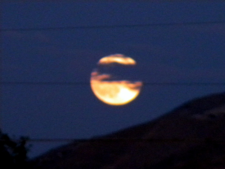 Full Moon Apple Valley California