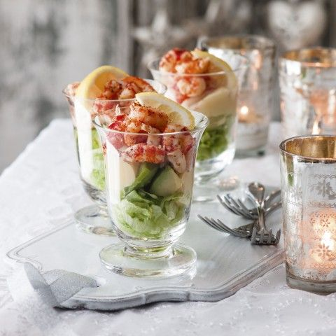 Christmas Day Starter Recipes - Crayfish Cocktail - Woman And Home
