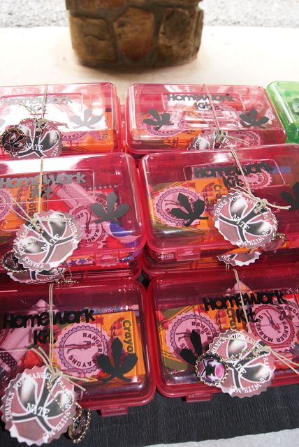 power rangers party favors