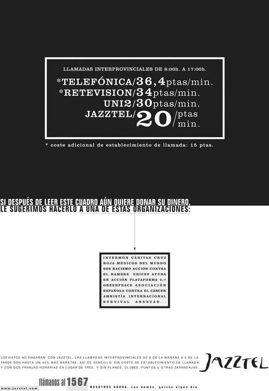 Agencia: Remo Anunciante: Jazztel
