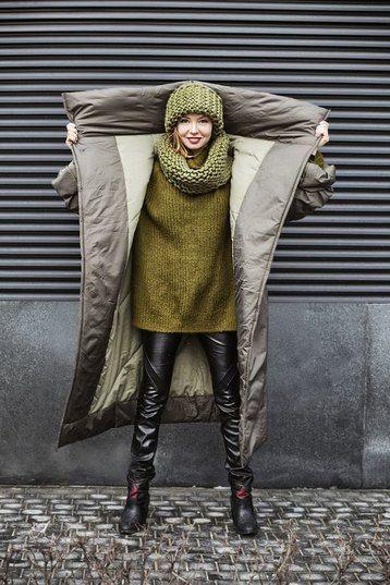Согреют душу и тело: идеальные пуховики-одеяла