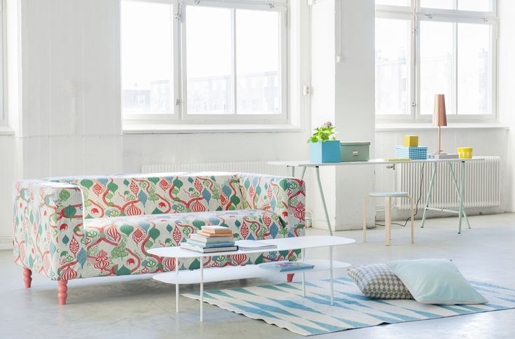 17 best images about beach house style on pinterest for Canape klippan ikea