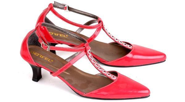 Sepatu Sandal Wanita  Sepatu Kerja Wanita Sepatu High Heels Cewek Mumer Kulit Formal Branded Murah Terbaru ES 338 085697680786