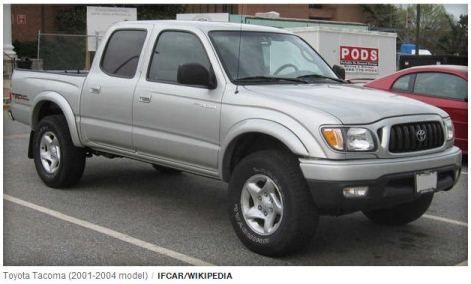 My 2004 Toyota PreRunner Pickup