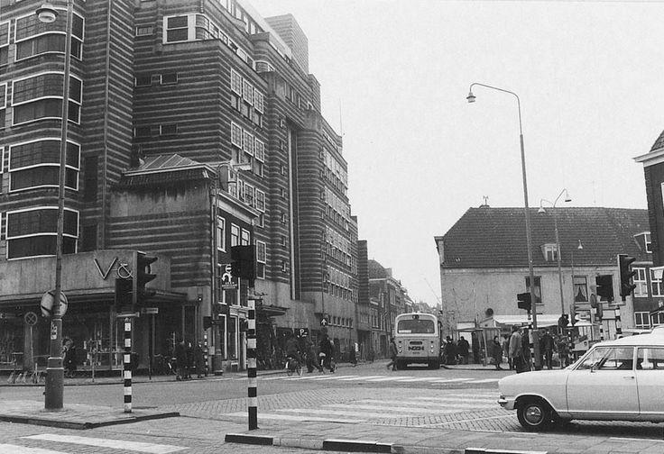 Gedempte Oude Gracht Haarlem (jaartal: 1970 tot 1980) - Foto's SERC