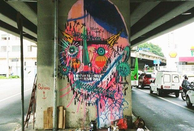 30 artistas de rua  (Foto: Reprodução)