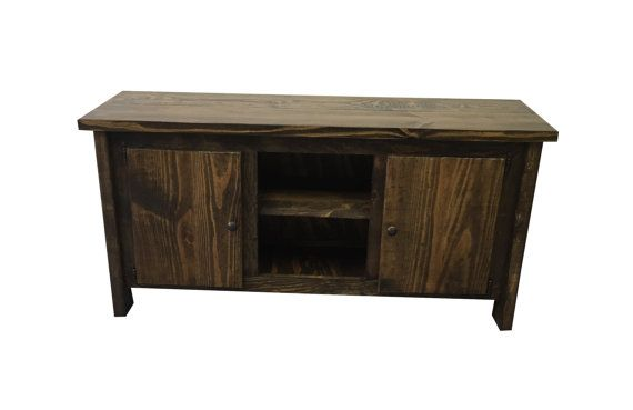 TV Stand / Media Console / Media Cabinet / by EzekielandStearns
