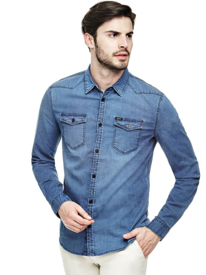 EUR79.90$  Watch now - http://vimyd.justgood.pw/vig/item.php?t=oihokq26461 - JEANS SHIRT