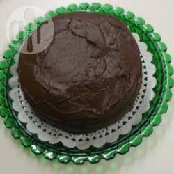 Chocoladetaart met Guinness met een chocolade Guinness glazuur @ allrecipes.nl