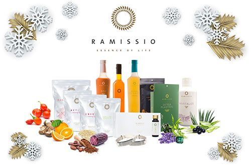 Darujte svým blízkým pod stromeček zdraví a krásu   Vychutnejte si kouzlo vánoc s produkty Ramissio. V naší nabídce naleznete dárečky opravdu pro všechny. Neváhejte a nadělte pod stromeček zdraví a krásu.
