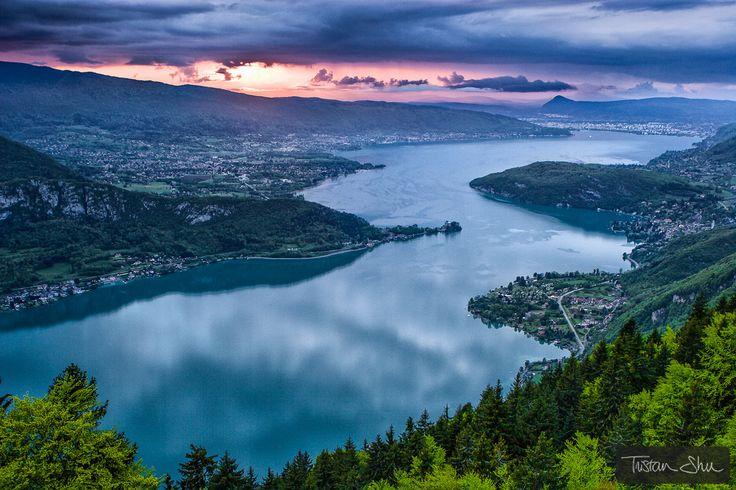Annecy Lake, Annecy, Haute-Savoie, Rhône-Alps, France