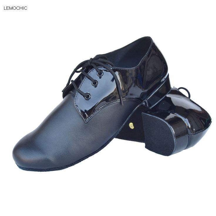 LEMOCHIC modest male and man hot sale rumba samba latin tango cha cha pole salsa ballroom pointe professional dancing shoes