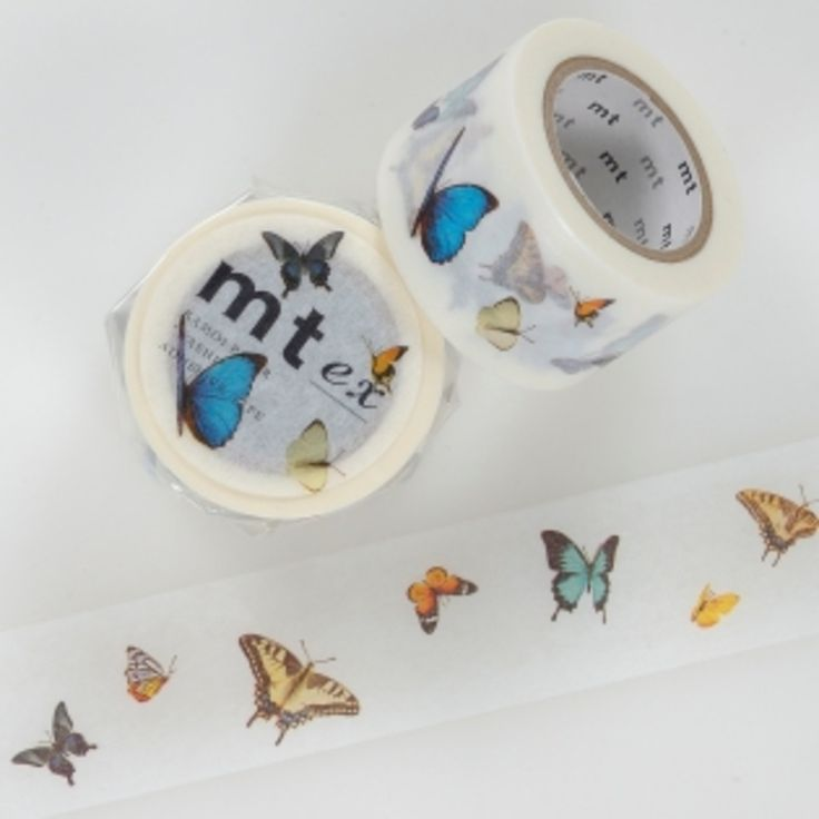 MT masking tape butterfly - Postpapier enzo