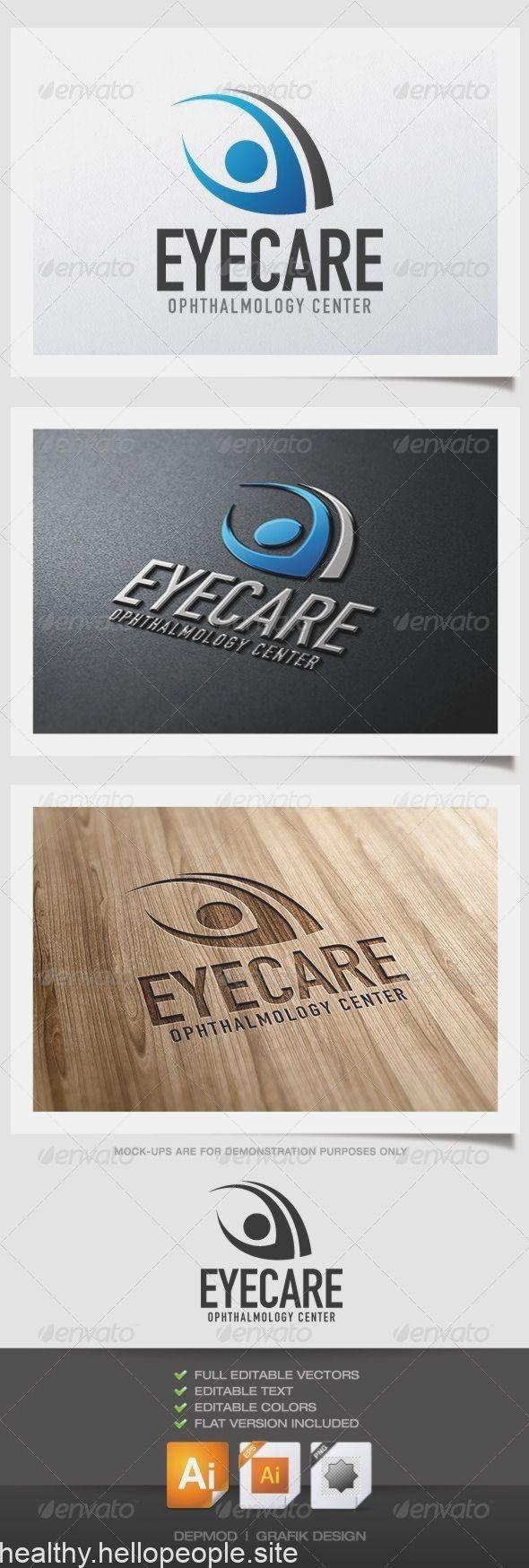Eye #Care #Logo #- #Vektor #EPS # #watch # #web #• #Erhältlich #hier #→ #graphicriver.net #…..