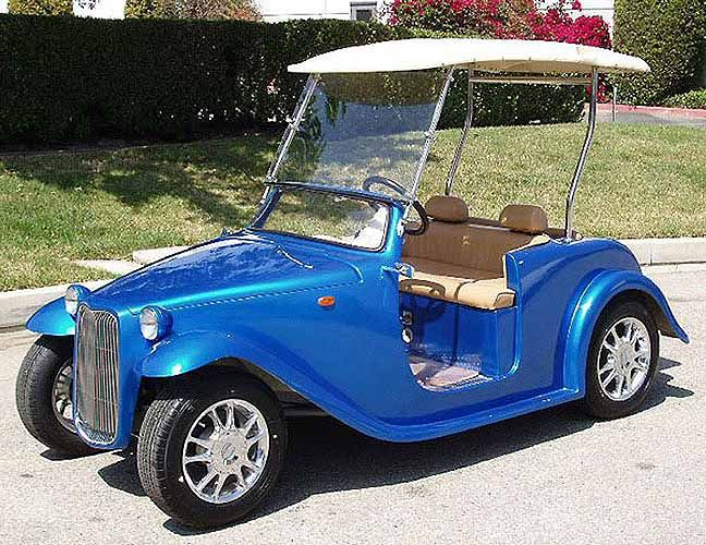 Custom Golf Cart 48
