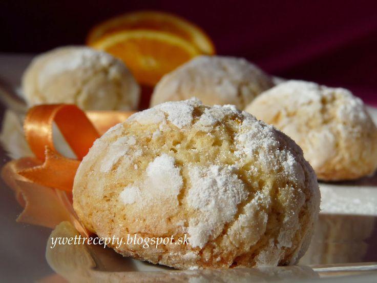 Kokosovo-pomarančové crinkles