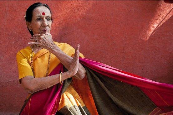 Mrinalini Sarabhai - the first female kathakali dancer and experimental choreographer.