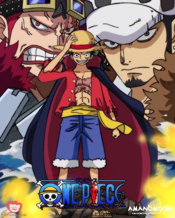 Supernova trio | Manga anime one piece, One piece manga ...