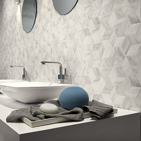 White Experience Porcelain Tile by Eleganza at Tango Tile