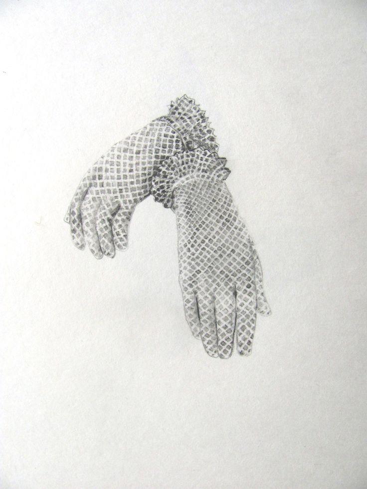 Glovebox series - Katherne Claypole graphite on paper 2015