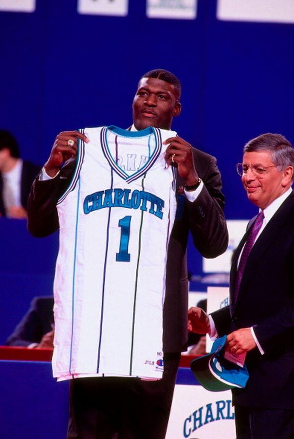 First Pick, '91 NBA Draft.