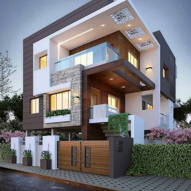 Modern Home Design Ideas Exterior: 11 Best Modern Exterior Design Ideas Trend 2020 In 2020