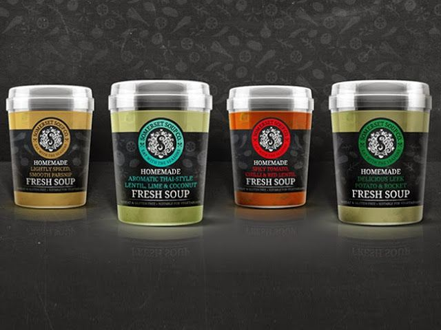 Somerset Soup Co. on Packaging of the World - Creative Package Design Gallery
