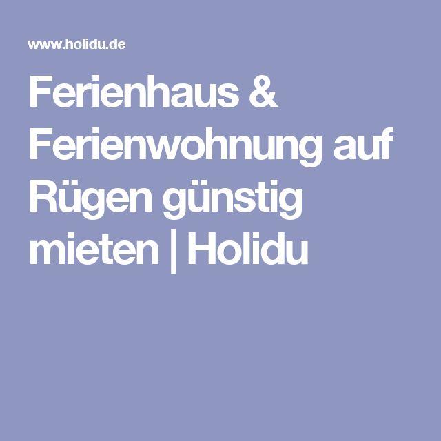 Ferienhaus & Ferienwohnung auf Rügen günstig mieten | Holidu