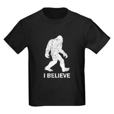 For my little Bigfoot believer :)