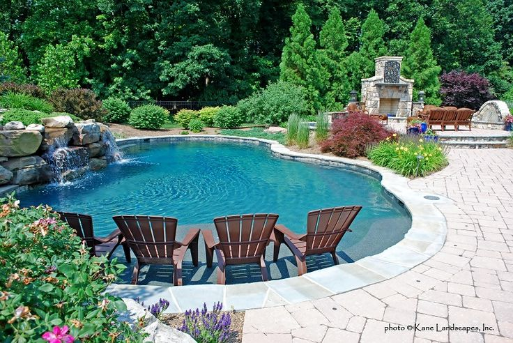 Sun Ledge Pool Pics Freeform Pools Town And Country Pools Custom Pool Builders Pool