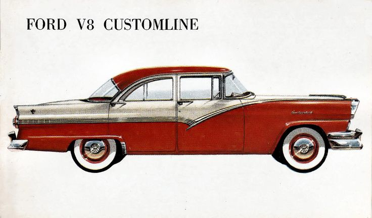 1957 Ford Customline