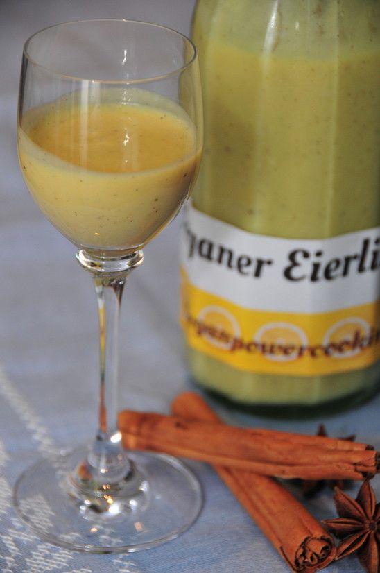 Veganer Eierlikör - veganpowercooking
