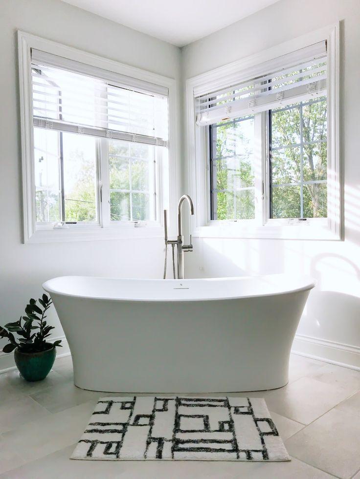 Modern Master Bathroom Ideas First Thyme Mom Modern Master Bathroom Bathroom Inspiration Modern Master Bathroom