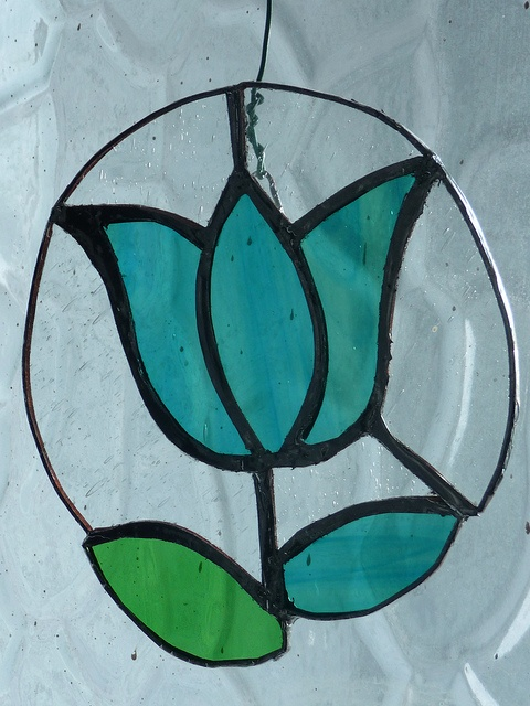Stained glass flower | Flickr - Photo Sharing!