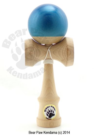 The Apprentice kendama by Bear Paw Kendama is an awesome trainer. Features widened hole, natty bottom for durability and to always see the hole. Kendama, kendamas, bear paw kendama,