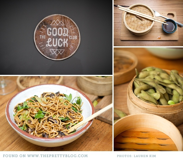 Noodle dish- The Good Luck Club | Photography: Lauren Kim Photography