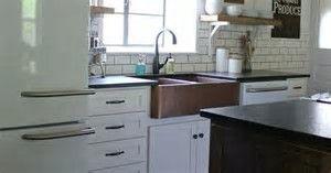 Image result for joanne gaines farmhouse kitchen appliances